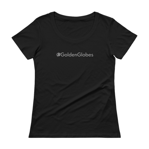#GoldenGlobes Women's Scoopneck T