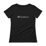 #Panthers Women's Scoopneck T