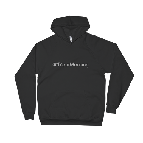 #4YourMorning Pullover Hoodie