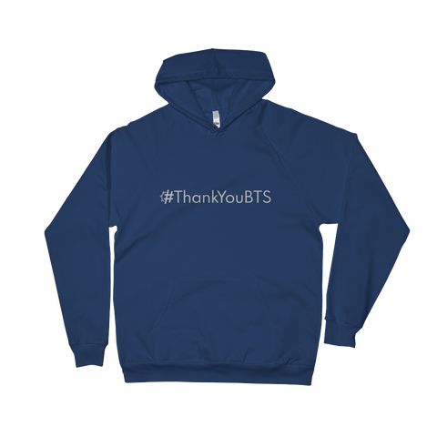 #ThankYouBTS Pullover Hoodie