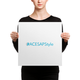 #ACESAPStyle Word Art