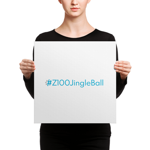 #Z100JingleBall Word Art