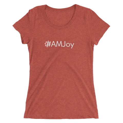#AMJoy Women's Triblend Fitted T