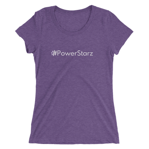#PowerStarz Women's Triblend Fitted T