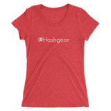 #Hashgear Women's Triblend Fitted T