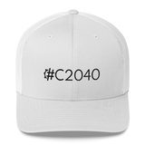 #C2040 Retro Trucker Hat