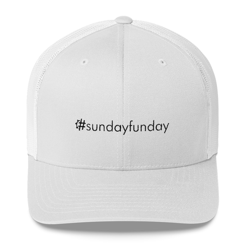 #sundayfunday Retro Trucker Hat