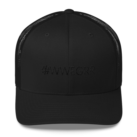 #WWEGRR Retro Trucker Hat
