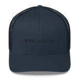 #APAGovDebate Retro Trucker Hat