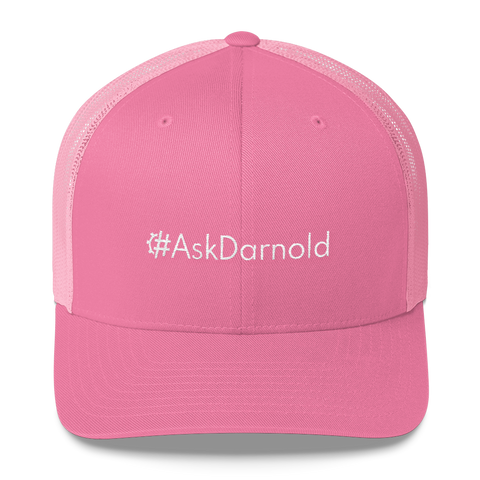 #AskDarnold Retro Trucker Hat