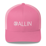 #ALLIN Retro Trucker Hat