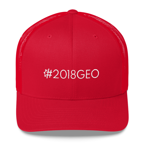 #2018GEO Retro Trucker Hat