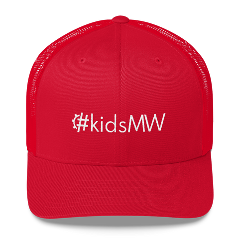 #kidsMW Retro Trucker Hat