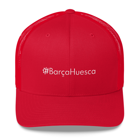 #BarçaHuesca Retro Trucker Hat