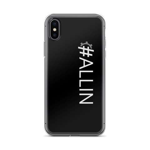 #ALLIN iPhone Case