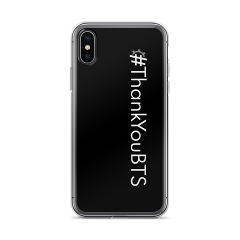 #ThankYouBTS iPhone Case