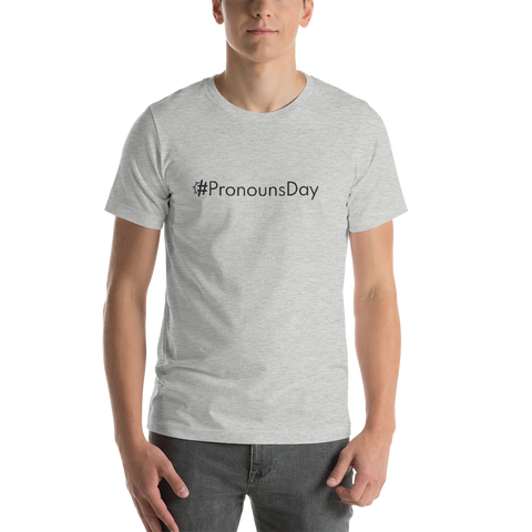 #PronounsDay Men's T