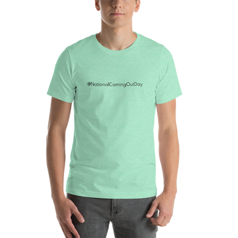 #NationalComingOutDay Men's T