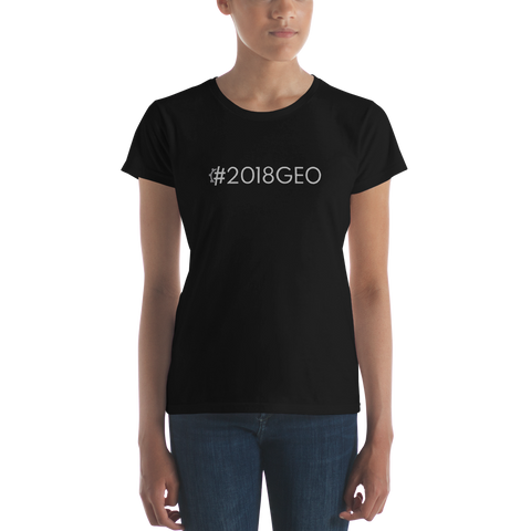 #2018GEO Women's Casual T