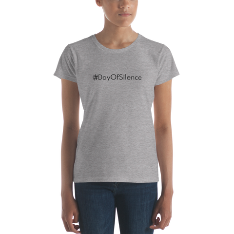 #DayOfSilence Women's Casual T