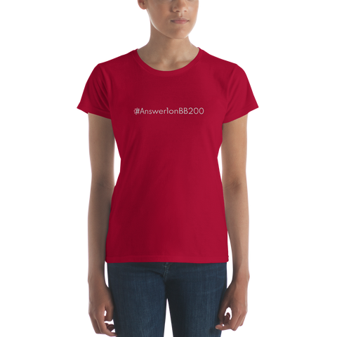 #Answer1onBB200 Women's Casual T