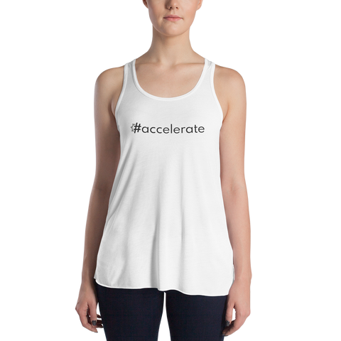 #accelerate Women's Lightweight Tank