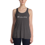 #Caturday Women's Lightweight Tank