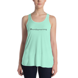 #sundaymorning Women's Lightweight Tank
