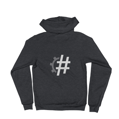#2018In5Words Zipper Hoodie