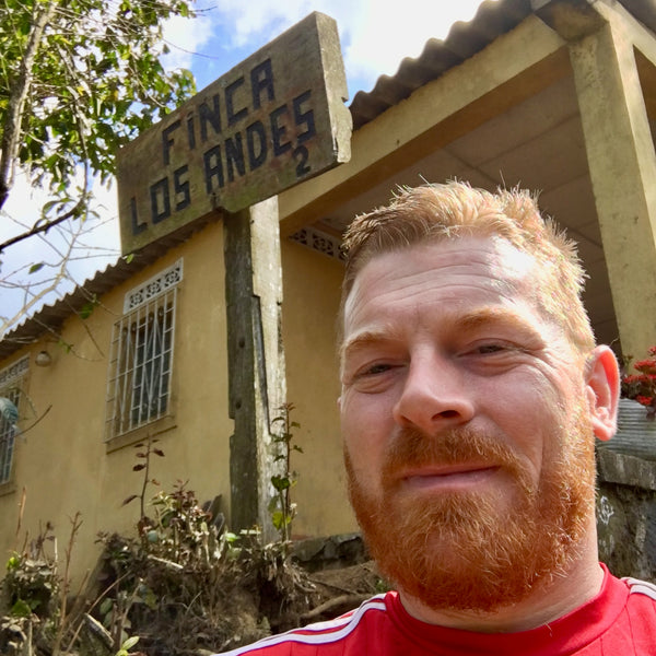 Stephen Leighton. Finca Los Andes, El Salvador | Hasbean.co.uk