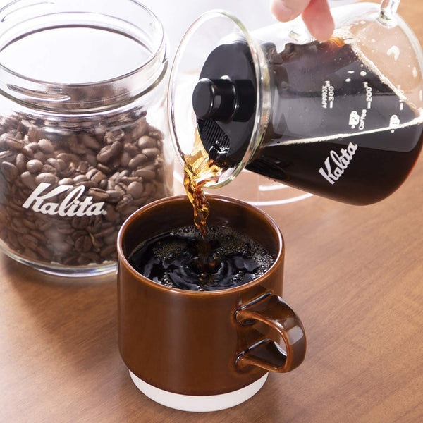 Kalita Glass Server - 300 G (300ml) | 31253 | Hasbean.co.uk