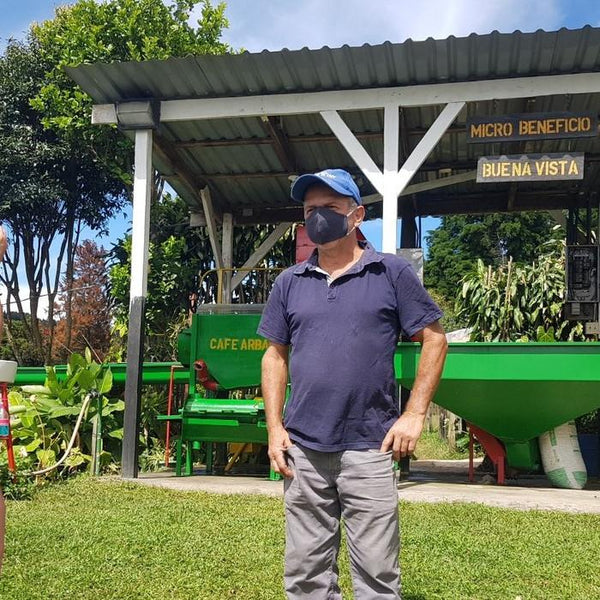 Carlos Arrieta. Cafe ARBAR. Lourdes de Naranjo, Western Valley, Costa Rica | Hasbean.co.uk