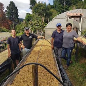 The Arrieta Family. Cafe ARBAR. Lourdes de Naranjo, Western Valley, Costa Rica | Hasbean.co.uk