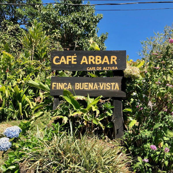 Cafe ARBAR. Lourdes de Naranjo, Western Valley, Costa Rica | Hasbean.co.uk