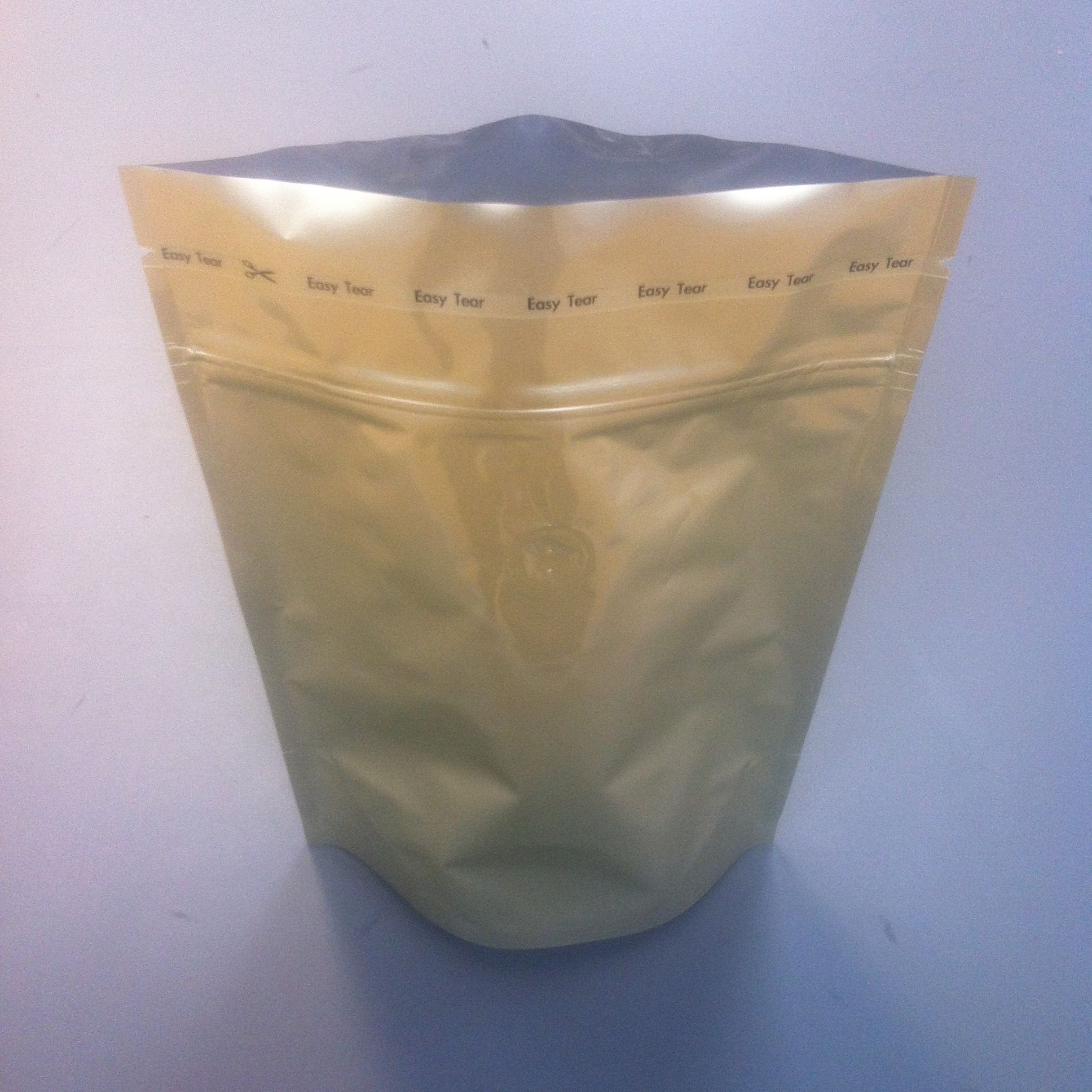 Gold 250g Resealable Coffee Bags
