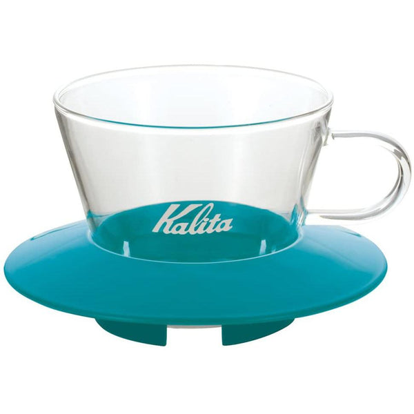 Kalita Wave Peppermint Green Glass Dripper - 155 (05063) | Hasbean.co.uk