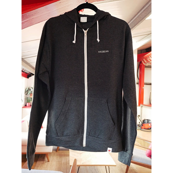 Hasbean Hoodie Black. Hasbean.co.uk