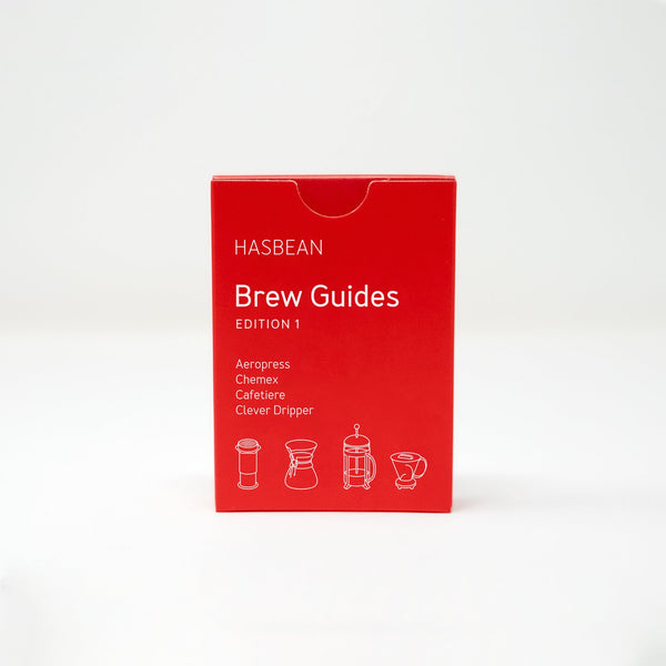 HASBEAN Brew Guide Playing Cards | Hasbean.co.uk