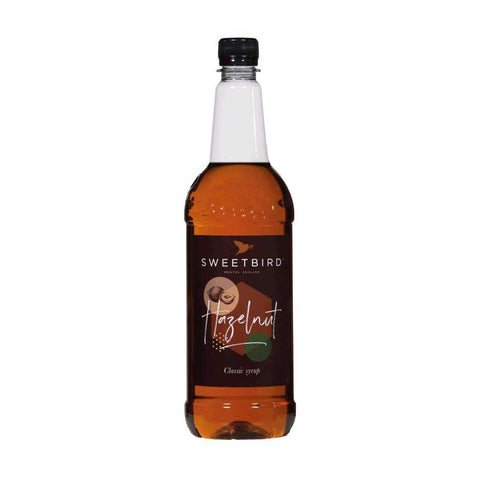 Sweetbird Hazelnut Syrup. Hasbean.co.uk