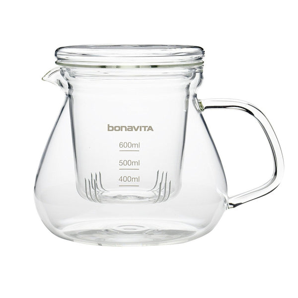Bonavita Glass Tea Brewer BV6600BRT. Hasbean.co.uk