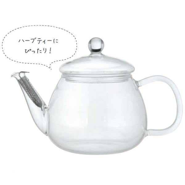 iwaki Glass Teapot 0.5L