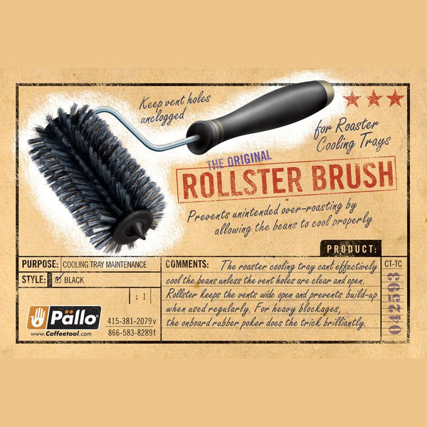 Pallo Rollster Bristle Head