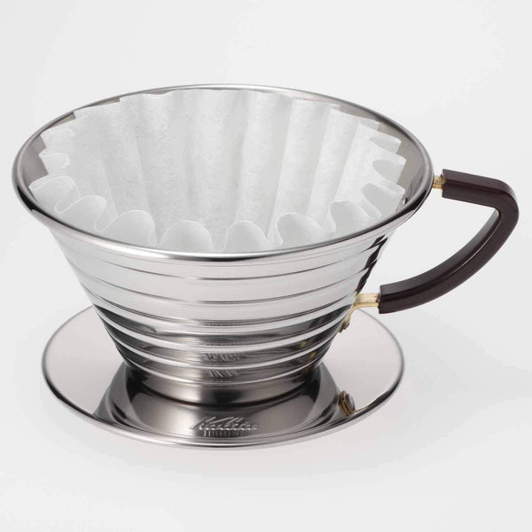 Kalita Wave Stainless Steel Dripper - 185 | 05033 | Hasbean.co.uk