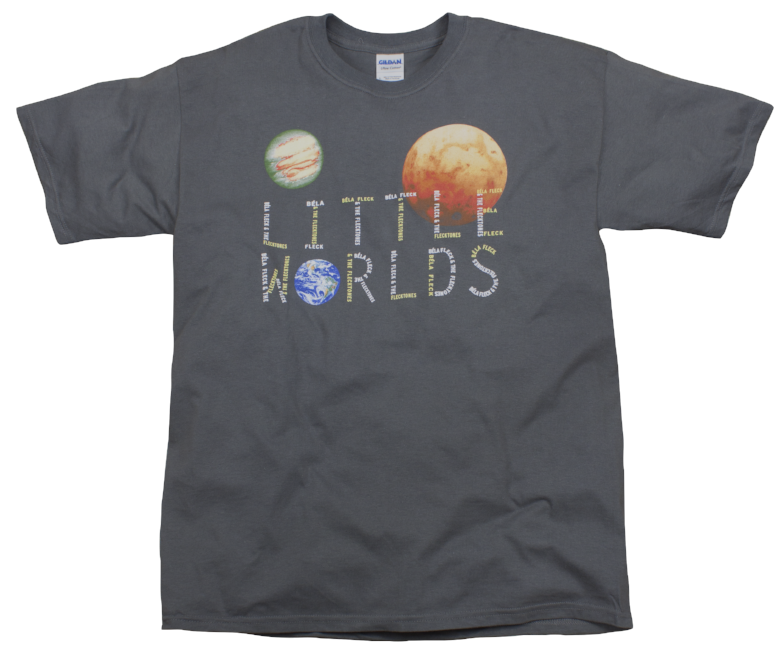 Little Worlds T-Shirt - Solid Gray