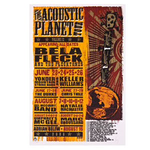 The Acoustic Planet Tour Limited Edition Print Poster