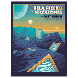 Bela Fleck & The Flecktones with Billy Strings Concert Poster