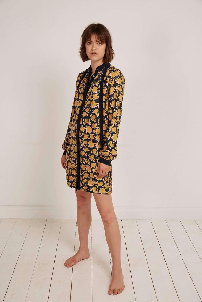Somerville London 8 Annie O Silk Mini Dress