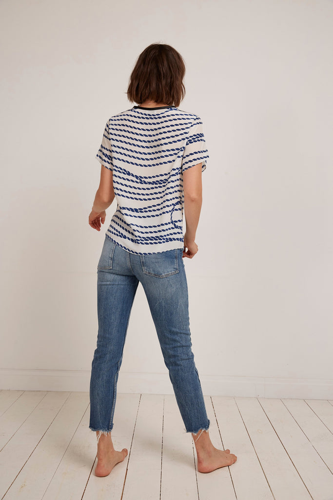 Somerville London 8 Lasso Silk Tee