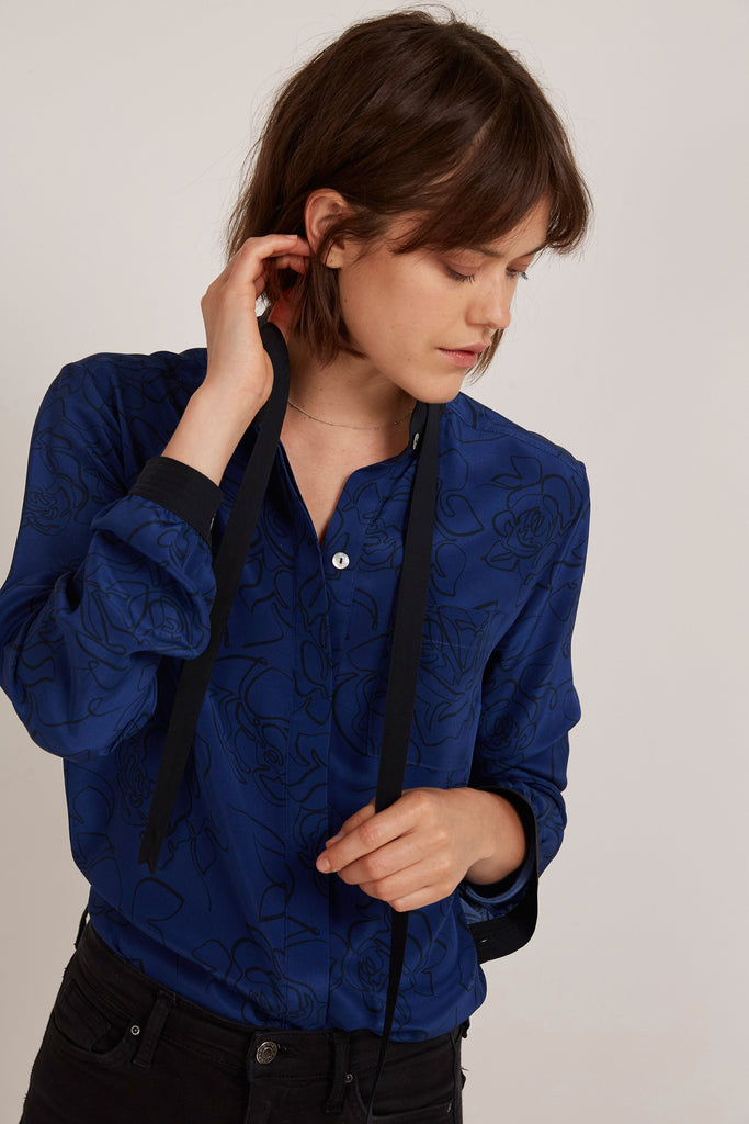 Somerville London 8 Liberty silk blouse