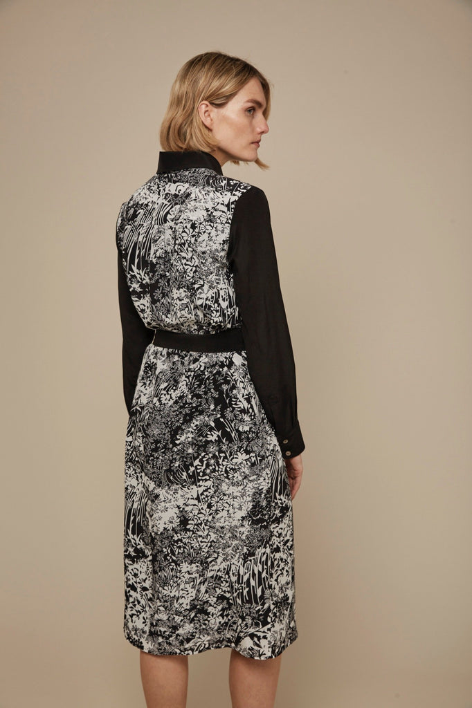Somerville London Alma Belted Midi Dress